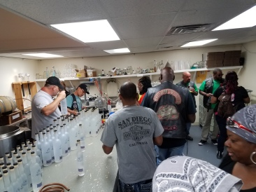 St. Louis meet and greet at a local Mastermind distillery